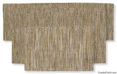 Sandstone Space Dyed Yarn Rug