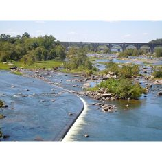 The James River, Richmond , Va