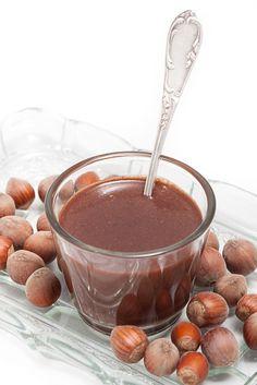 Aki szereti a Nutellát, ebben a receptben sem fog csalódni. Chocolate Cookies, Chocolate Fondue, Yummy Drinks, Nutella, Cooking, Food, Kitchen, Chocolate Biscuits, Essen
