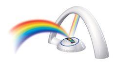 Rainbow Projection light- I want one!