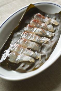 洋風)鯛の昆布締め by シバタタカトシさん | レシピブログ - 料理 ...