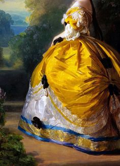 Empress Eugenie (detail) Franz Xaver Winterhalter Oil on canvas c. 1854