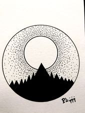 """Sun Brings Heat"" – Keep up with the times. Hipster Drawings, Space Drawings, Cute Easy Drawings, Cool Art Drawings, Pencil Art Drawings, Art Drawings Sketches, Doodle Drawings, Doodle Art, Circle Drawing"