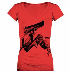 Boondock Saints Veritas Aequitas Women's VNeck by GOFBclothing...NEED it
