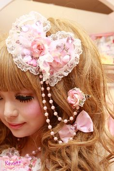 I think this is pretty but you know what I don't like thing In my hair much so that's a bummer :(  but you know someone else could where it or I could sail itbl or kepp it for my kid when I get older or when I get kids scince I am young I would have to wait a long time so that's a bummer :(  but I am ok yay  :)