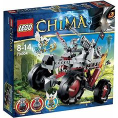 LEGO Chima: Wakz' Pack Tracker (70004)