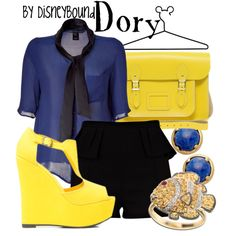 """""""Dory"""" by lalakay on Polyvore. Love this."""