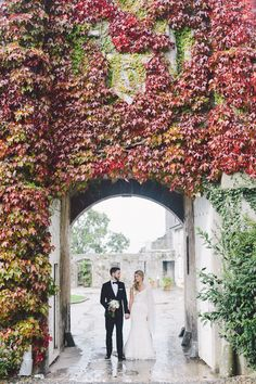 John and Alex's Intimate Springfield Castle Wedding in Ireland