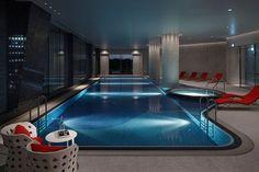 Evian spa at the Palace Hotel, Tokyo