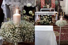 Dekoracja kościoła w Strawczynku   Dekoracje Vanilla