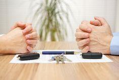 couple hands divorce decree