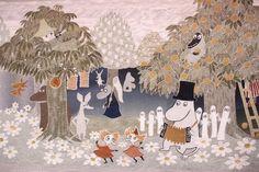 Moomin Quilt