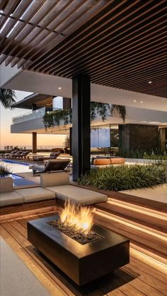 Dream Home Design, Modern House Design, Home Interior Design, Best Home Design, Modern Architecture House, Architecture Design, Luxury Penthouse, Luxury Homes Dream Houses, Dream House Exterior
