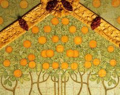 Detall decoratiu de l'Institut Pere Mata, de Lluís Domènech i Montaner, a Reus (Catalonia)