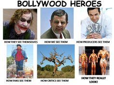 Bollywood heroes...