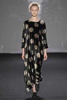 Chinese designer Uma Wang at Milan Fashion Week AW14