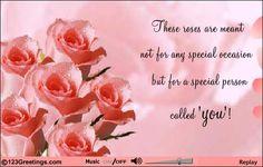 Pretty roses card!