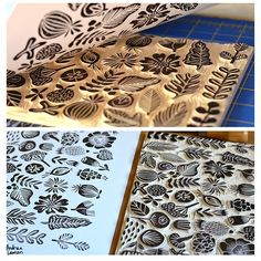 Andrea Lauren. Good info on starting out with carving lino & alternate material blocks.