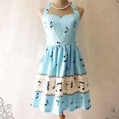 cute music dress| $18.11  vintage retro lolita otome kei fachin dress under20 under30 free shipping rosegal