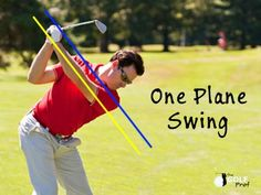 Here is a small sample from The Stress-Free Golf Swing. - Swinging without a million and one swing thou. One Plane Golf Swing, Golf Swing Analysis, Exercise Tubing, Golf Events, Golf Ball Crafts, First Plane, Golf Party, Golf Instruction, Perfect Golf
