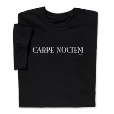 Seize the night wearing Carpe Noctem T-shirt Tech Geek T-shirts & More Gaming, coding or hacking with this black cotton Carpe Noctem Coding T-shirt. ( A ComputerGear exclusive. Funny Tees, Funny Tshirts, Carpe Noctem, Computer Humor, Galaxy T Shirt, Geek Tech, Gamer Gifts, Tech Support, Geek Chic