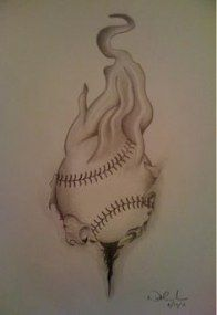 35 Ideas For Drawing Ideas Tattoo Sketches Tatoo Baseball Drawings, Sports Drawings, Baseball Art, Love Drawings, Doodle Drawings, Disney Drawings, Easy Drawings, Dodgers Baseball, Baseball Stuff