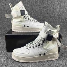 best service ee7a8 56bc9 Nike Special Forces Air Force 1 Boots White 10593