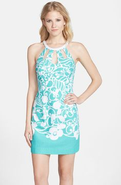#LillyPullitzer Pearl Shift Dress available at #Nordstrom
