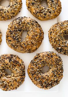 Homemade Everything Bagels. A lot easier to make than you think and so much better than store-bought!