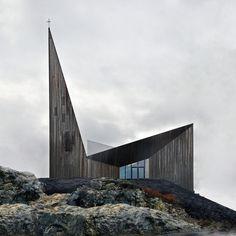 Community Church Knarvik   Hordaland, Norway   Reiulf Ramstad Arkitekter AS   photo By Hundven-Clements Photography