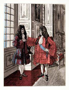 1959 Photolithograph Brissaud Art King Louis XIV Royalty Dying Historic XEE7