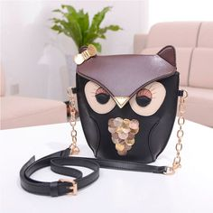 Elegant Fashion Cartoon Shoulder Bag
