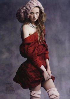 Holly Rose Emery for Vogue Australia Photo: Nicole Bentley