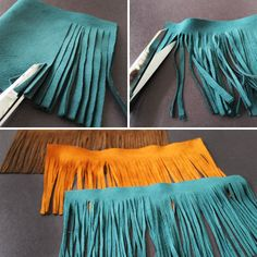 DIY Clothes Hippie how to make - How to Create Your Own Trendy Tassel Accessories Diy Tassel, Tassels, Graduation Tassel, College Graduation, Leather Jewelry, Leather Craft, Botas Boho, Leather Fringe, Suede Leather