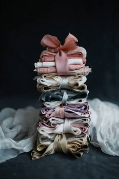 Hand Dyed Silk Ribbon for Wedding DIY Bouquets + Styling