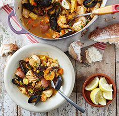 Tutka Bay Fisherman's Stew @finecooking