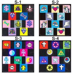 【NEW】EICHIMATSUNAGAのPOPデザインネイルシール☆全6種【メール便OK】(EICHI-S-1-6)