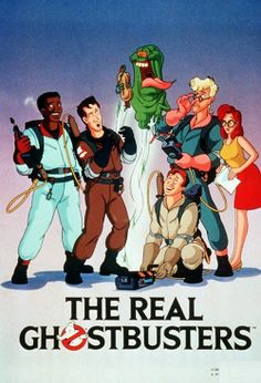 The Real Ghostbusters! Dominic loves!!!!!!!!