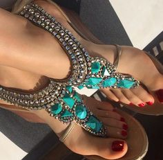 f5dedf520cb22 Sandals of the Day (Concierge Librarian)
