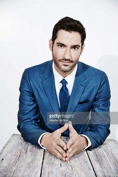 Tom Ellis' dark eyes give me a funny feeling...