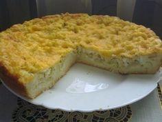 Капустный пирог с лососем