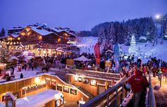 Courchevel ski resort, Savoie, France (© Jacques Pierre/Hemis/Corbis)