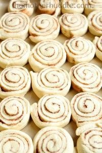 Lunch Lady Cafeteria Cinnamon Rolls