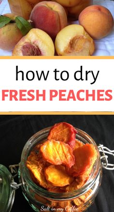 How to dry fresh peaches so they're actually soft and enjoyable to eat, more like what you'd buy in the store, but without chemicals or preservatives. Dehydrated Vegetables, Dehydrated Food, Dried Vegetables, Veggies, Canning Pressure Cooker, Pressure Cooker Recipes, Pressure Cooking, Dried Peaches, Plat Vegan