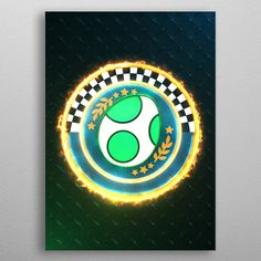 Egg Cup emblem poster by from collection. By buying 1 Displate, you plant 1 tree. Poster Prints, Art Prints, Mario Kart, Print Artist, Cool Artwork, Egg, Symbols, Metal, Art Impressions