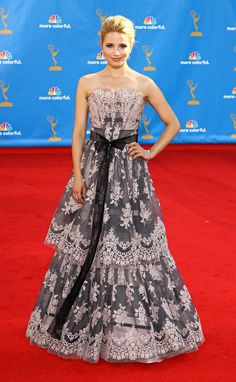 Dianna Agron no Emmy 2010.