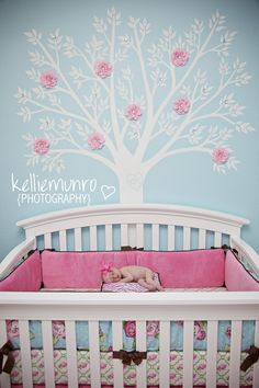 colours for a baby girl room