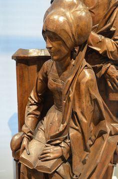 Mary Salome and Zebedee, Tilman Riemenschneider, Germany, ~1510 | Flickr - Photo Sharing!