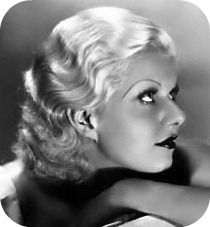 Let's update Victoria Beckham's trendy bob with a touch of old Hollywood movie star glamour… the lovely finger wave era of Jean Harlow & Ginger Rogers. Glamour Hollywoodien, Old Hollywood Glamour, Golden Age Of Hollywood, Vintage Glamour, Vintage Hollywood, Hollywood Stars, Classic Hollywood, Hollywood Quotes, Vintage Beauty