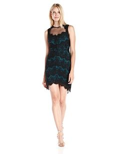 Greylin Claire Lace Sleeveless Dress in Pine - http://www.womansindex.com/greylin-claire-lace-sleeveless-dress-in-pine/
